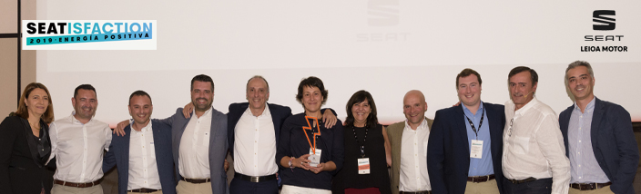 Leioa Motor recibe el premio SEATisfaction 2019